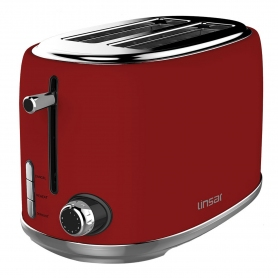 Linsar 2 Slice Toaster - Red