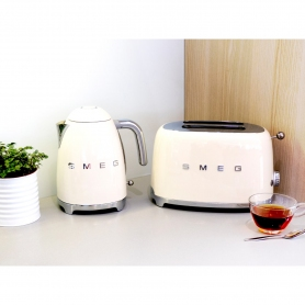 Smeg 2 Slice Toaster - Cream - 3