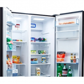 Hisense American Style No Frost Fridge Freezer - 5