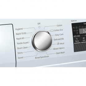 Siemens extraKlasse iQ300 7kg 1400 Spin Washing Machine - White - A+++-10% - 1