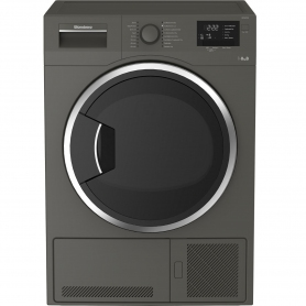 Blomberg 8kg Condenser Tumble Dryer - Graphite - B Rated - 0