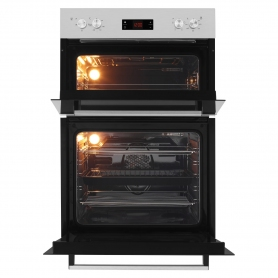 Beko Built In Electric Double Oven - Stainless Steel - A/A Rated - 3