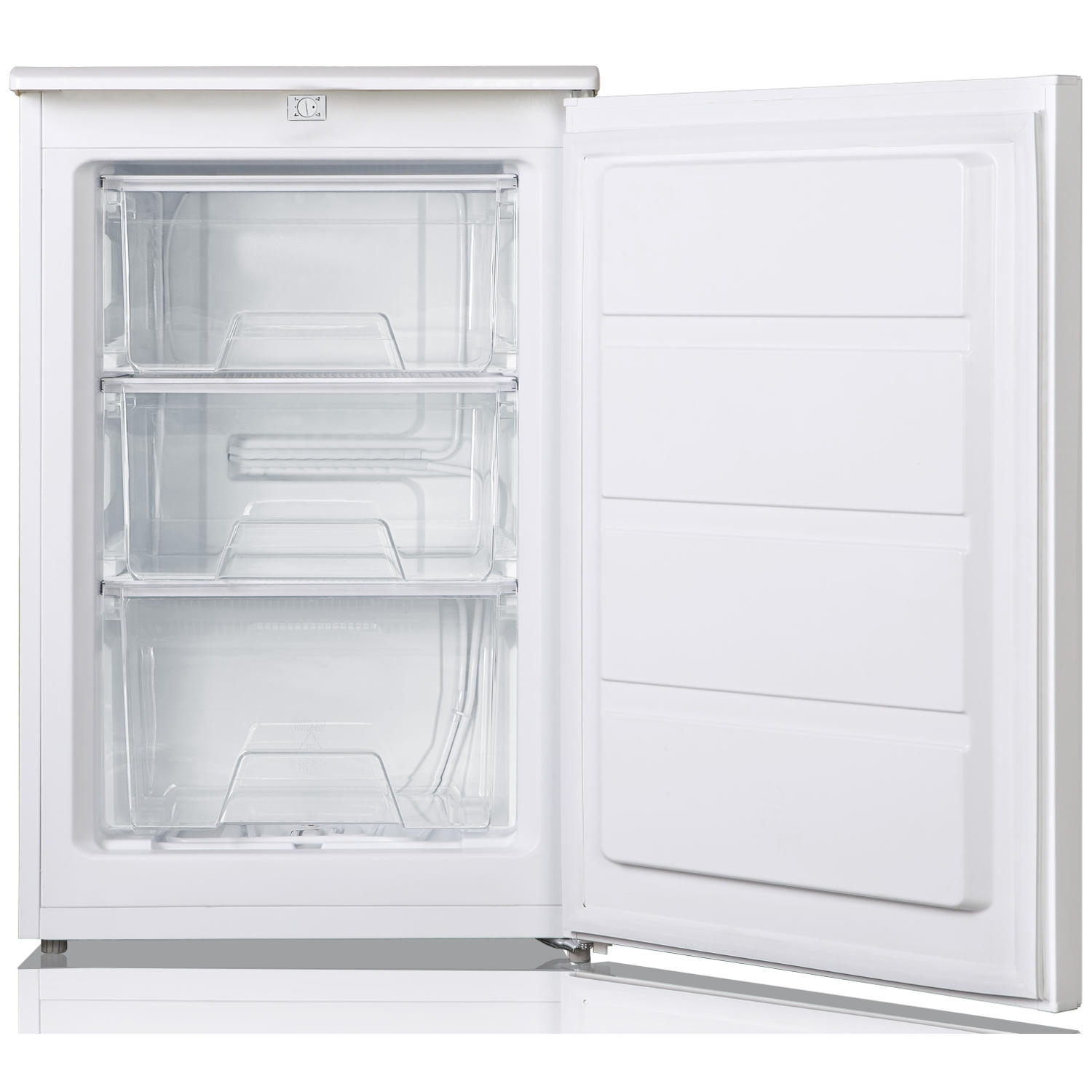 Lec 55cm Undercounter Freezer - White - A+ Rated - 1