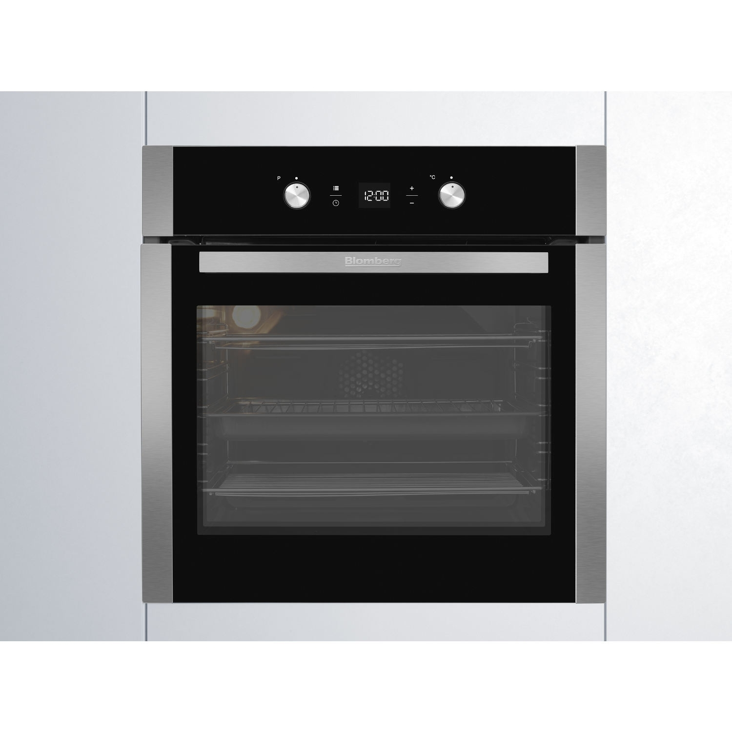 Blomberg OEN9302X 59.4cm Built Electric Single Oven - Stainless Steel - 2