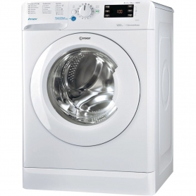 Indesit 9kg 1400 Spin Washing Machine - 0