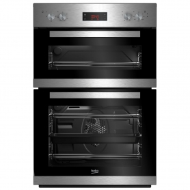 Beko Built In Electric Double Oven - Stainless Steel - A/A Rated - 4