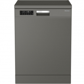 Blomberg Full Size Dishwasher - Graphite - 14 Place Settings