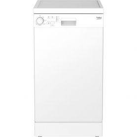 Beko Slimline Dishwasher - White - A+ Rated