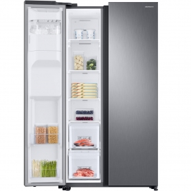 Samsung American Style Fridge Freezer - Silver - A+ Rated - 1