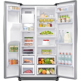 Samsung American Style Fridge Freezer - Stainless Steel Effect - A+ Rated