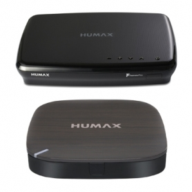 Humax 500GB Smart Freeview Play HD TV Recorder & H3 Expresso Bundle