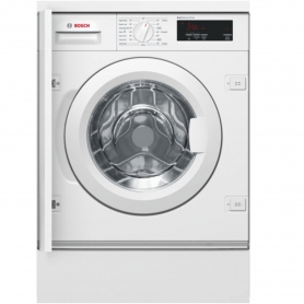Bosch Integrated 8kg 1400 Spin Washing Machine - White - A+++ Rated
