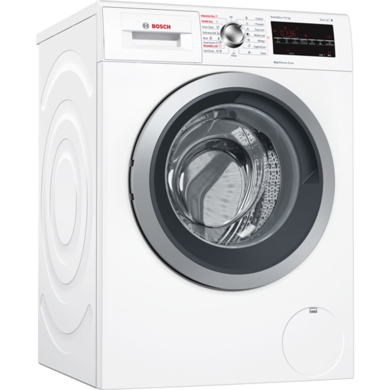 Bosch 7kg/4kg 1500 Spin Washer Dryer - White - A Rated - 0