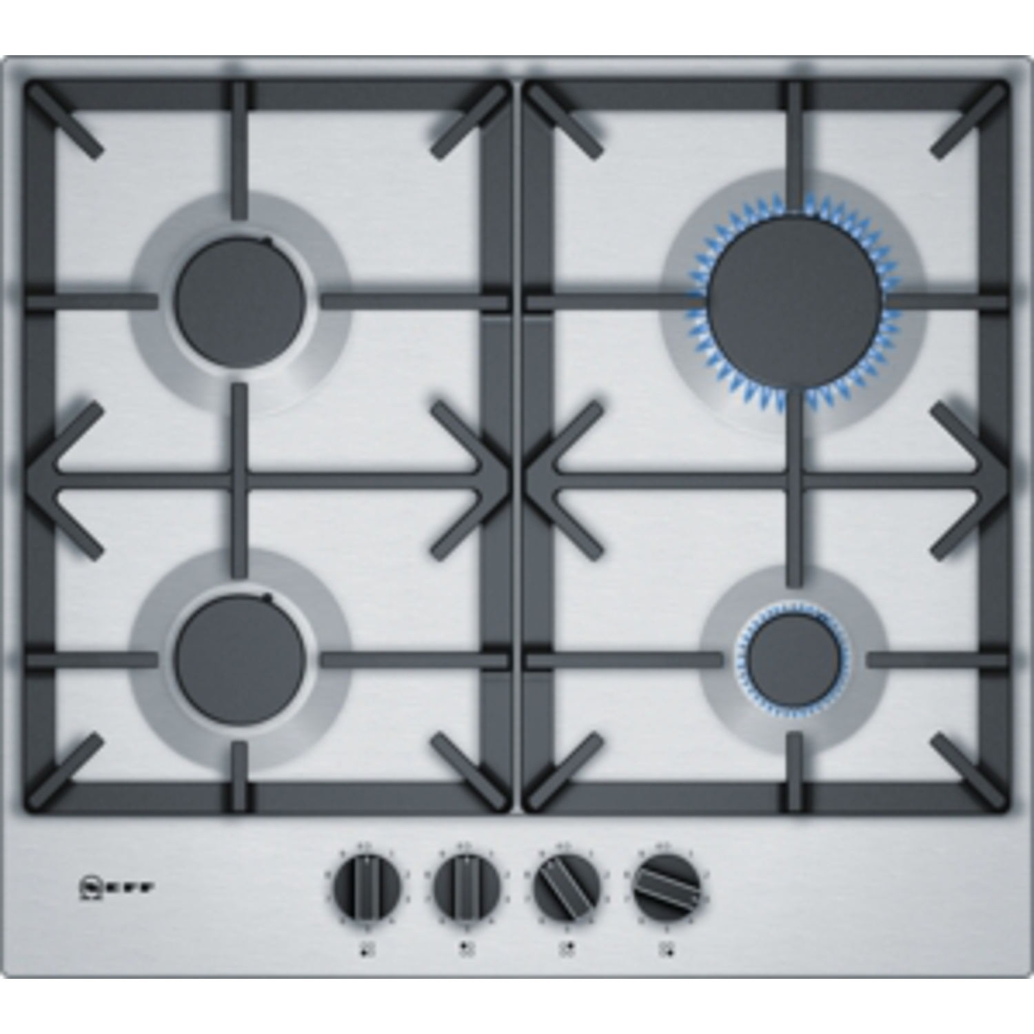 Neff 58cm Gas Hob - Stainless Steel - 0