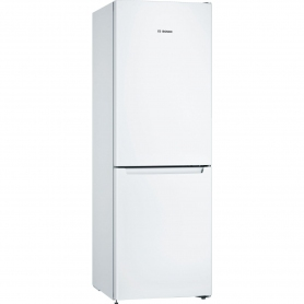 Bosch 60cm Frost Free Fridge Freezer - White - A++ Rated - 0