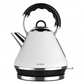 Linsar 1.7 Litre Pyramid Kettle - White
