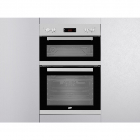 Beko Built In Electric Double Oven - Stainless Steel - A/A Rated - 2