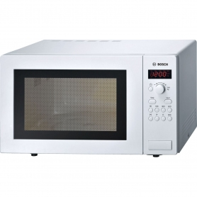 Bosch 25 Litre Microwave - White