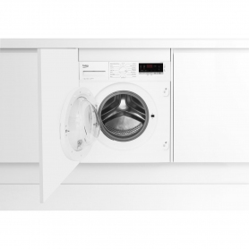 Beko Integrated 7kg 1400 Spin Washing Machine - White - A+++ Rated
