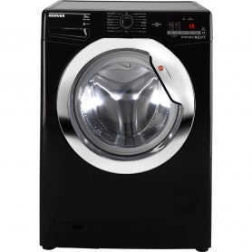 Hoover 8kg 1500 Spin Washing Machine - Black - A+++ Rated