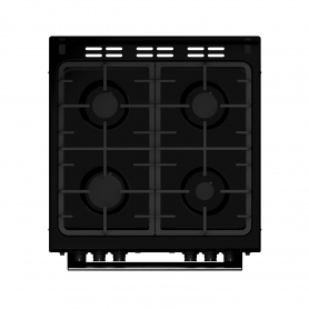 Blomberg 60cm Double Oven Gas Cooker - Black - 4