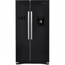 Hisense American Style No Frost Fridge Freezer - 0