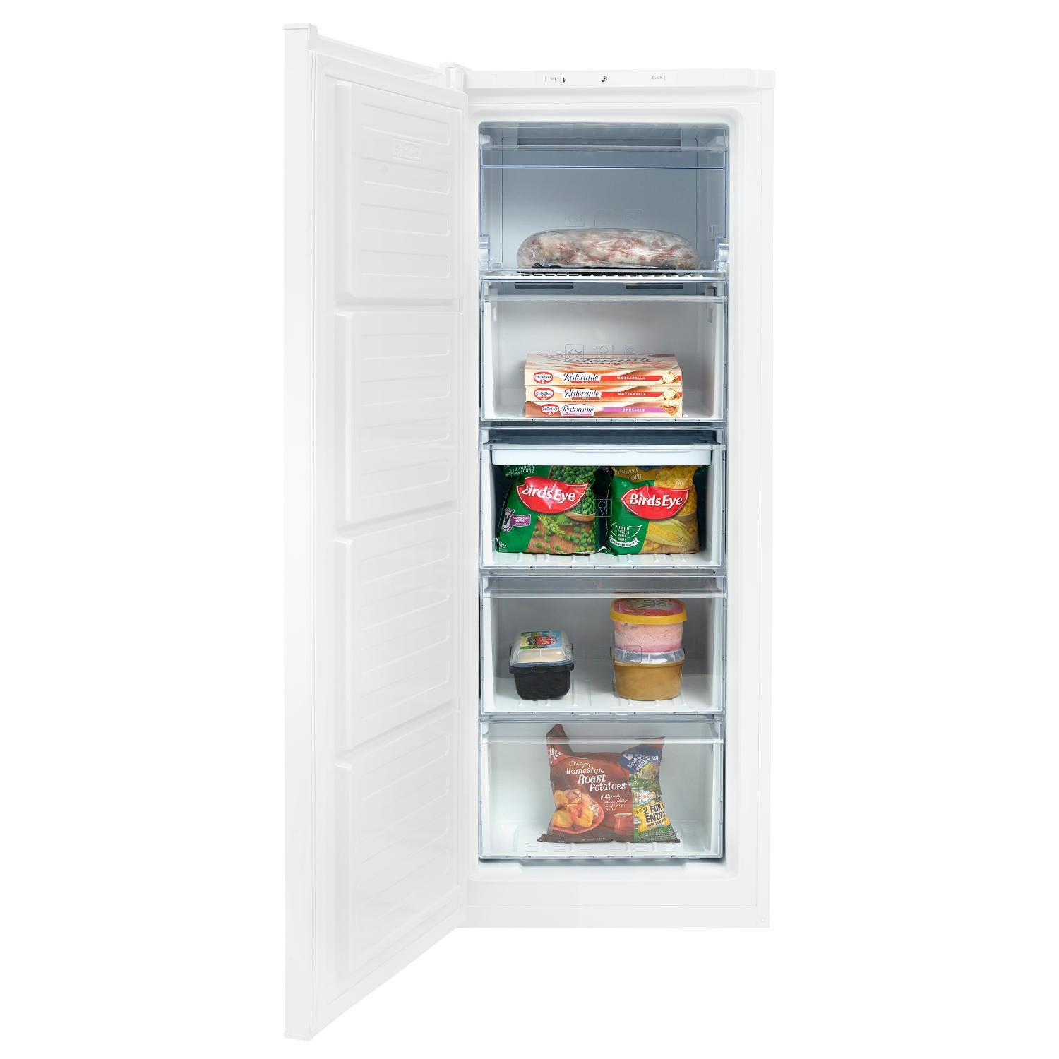 Beko 55cm Frost Free Tall Freezer - White - A+ Rated - 3