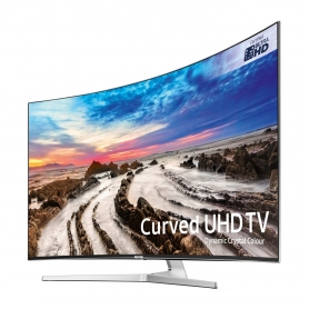 "Samsung 55"" Curved 4K UHD LED TV - 3"