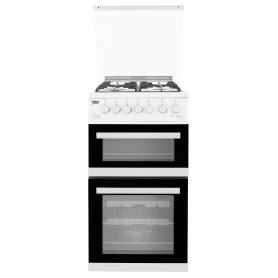 Beko 50cm Gas Cooker with Glass lid  - 4