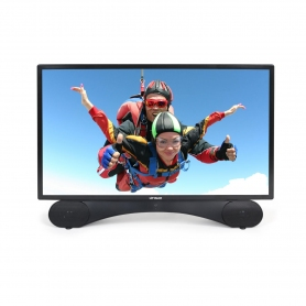 "Linsar 24"" Full HD LED TV + Built in DVD"