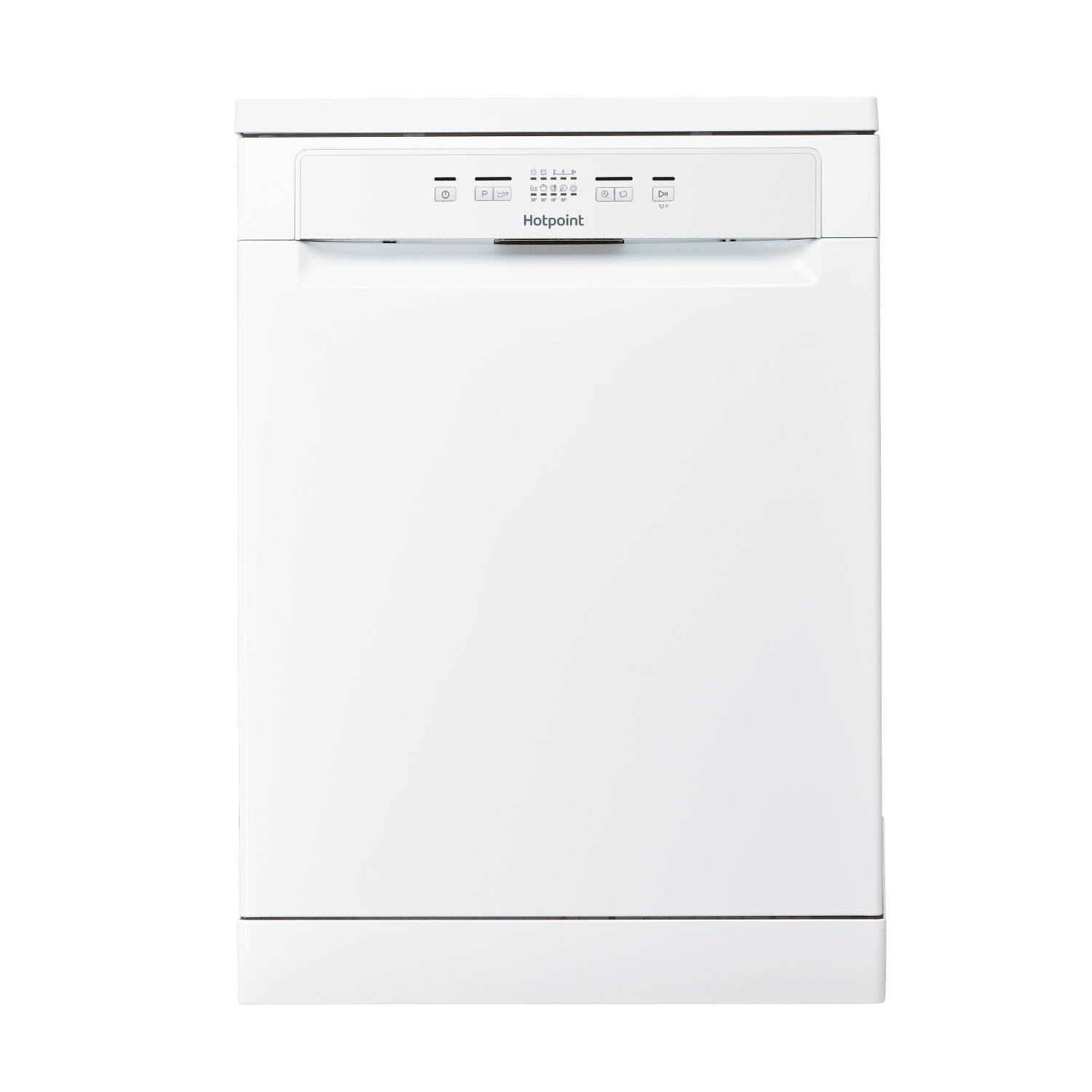 Hotpoint Full Size Dishwasher - White - A+ Rated - 0