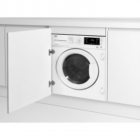 Beko Integrated 7kg/5kg 1200 Spin Washer Dryer - White - 2