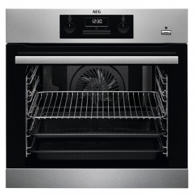 AEG SteamBake Built In Electric Single Oven