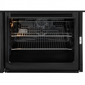 Beko 60cm Double Oven Electric Cooker with Ceramic Hob - Black - A/A Rated - 3