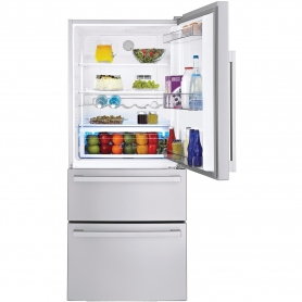 Blomberg Three Door Frost Free Fridge Freezer