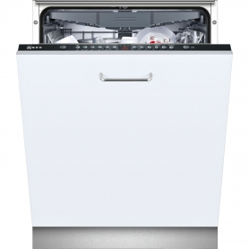 Neff Integrated Full Size Dishwasher - Black Control Panel - A++ Rated