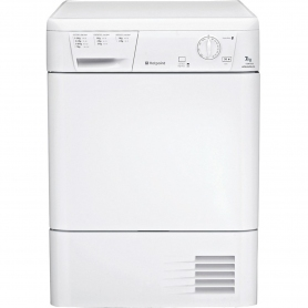 Hotpoint CDN7000BP 7kg Condenser Tumble Dryer - White