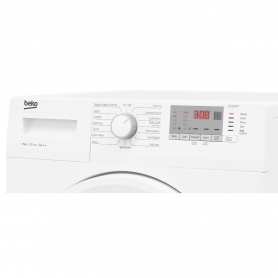 Beko 8kg 1200 Spin Washing Machine with Daily Quick Wash - White - 3