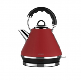 Linsar 1.7 Litre Pyramid Kettle - Red - 1