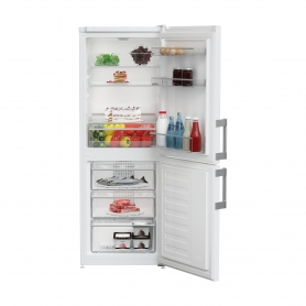 Blomberg 55cm Frost Free Fridge Freezer - White - A+ Rated