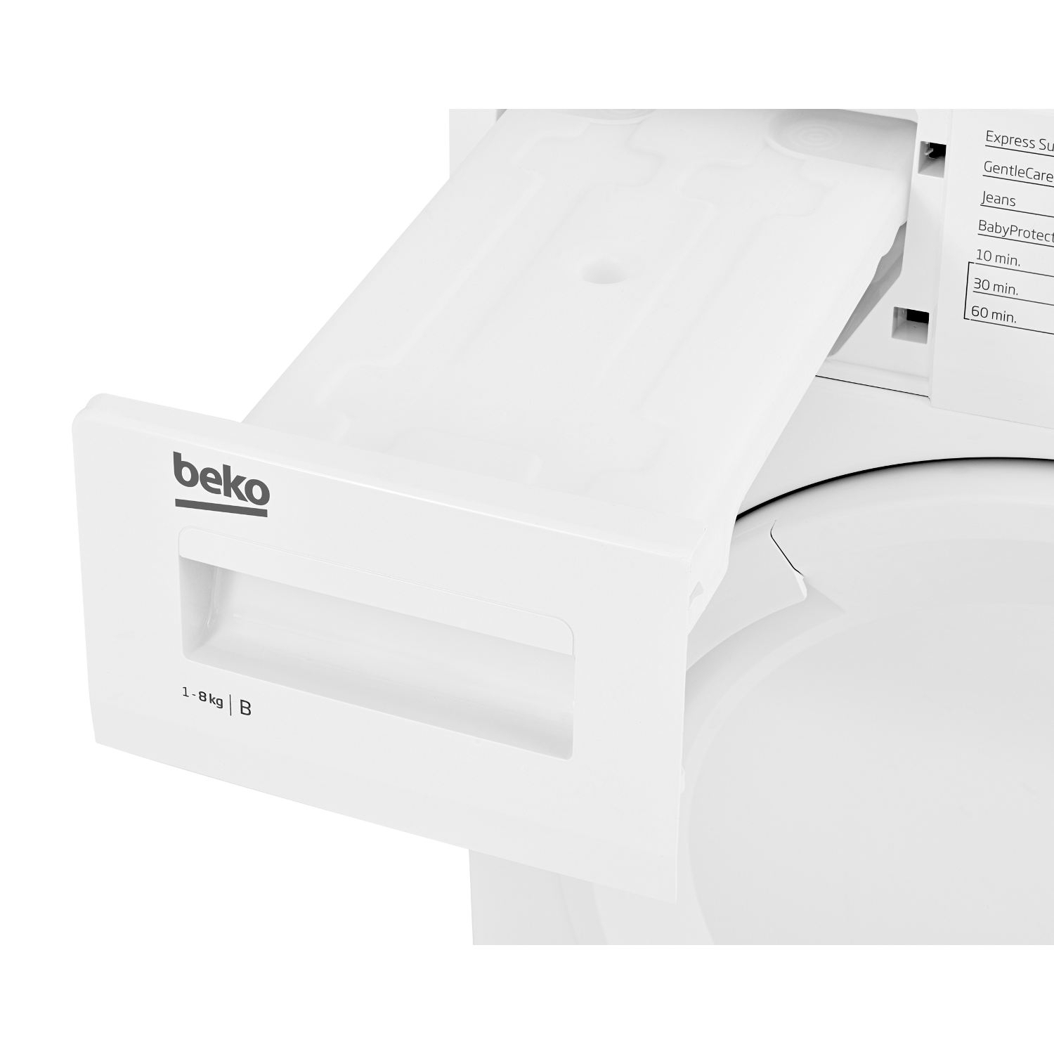 Beko 8kg Condenser Tumble Dryer - White - B Rated - 5