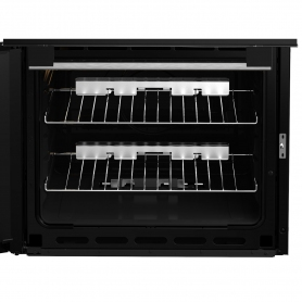 Blomberg 60cm Double Oven Gas Cooker - Black - 3