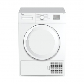 Beko 8kg Condenser Tumble Dryer - White - B Rated - 9