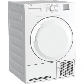 Beko 8kg Condenser Tumble Dryer - White - B Rated - 7