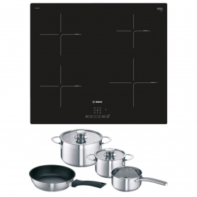 Bosch Induction Hob Plus Free Pan Set