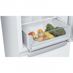 Bosch 60cm Frost Free Fridge Freezer - White - A++ Rated - 5