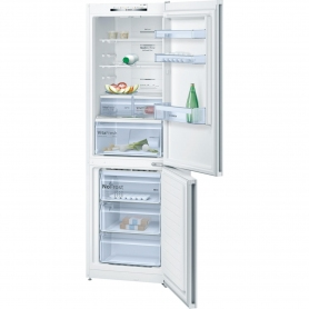 Bosch 60cm Vitafresh Frost Free Fridge Freezer - White - A++ Rated - 1