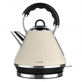Linsar 1.7 Litre Pyramid Kettle - Cream