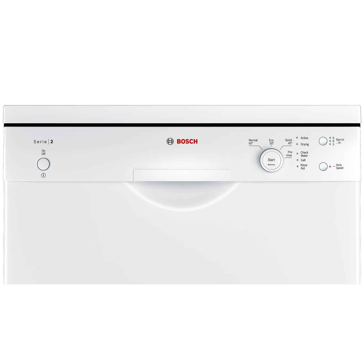 Bosch SMS24AW01G Full Size Dishwasher - White - 12 Place Settings - 3