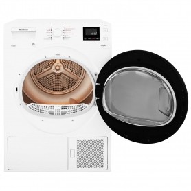 Blomberg LTH3842W 8kg Heat Pump Tumble Dryer - White - 2